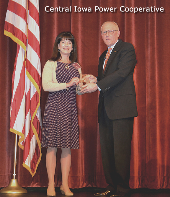 Central Iowa Power Cooperative Receives IADG Impact Award