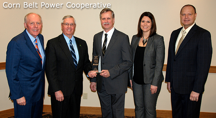 Corn Belt Power Cooperative Receives IADG Impact Award