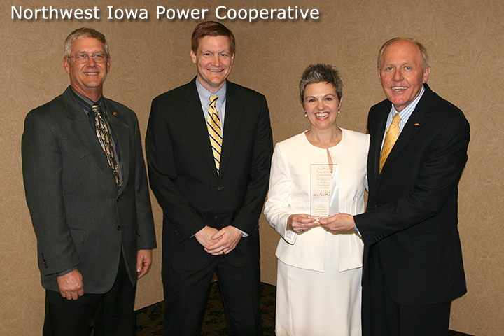 Northwest Iowa Power Cooperative Received IADG Impact Award