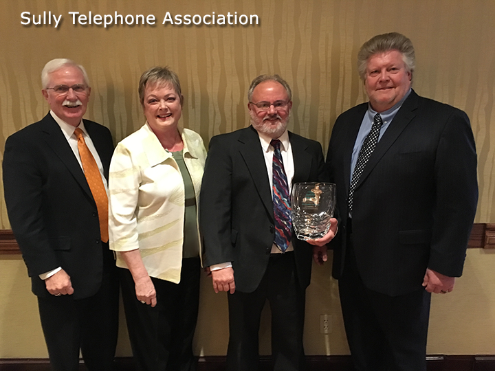 Sully Telephone Company Receives Ripple Effect Aureon Impact Award