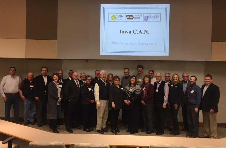 Iowa Community Affiliate Network group photo