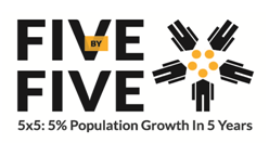 Five by Five Program Logo