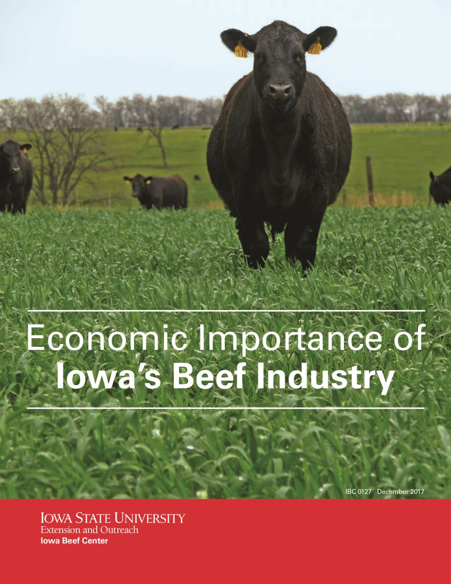 Iowa Dairy Industry Report