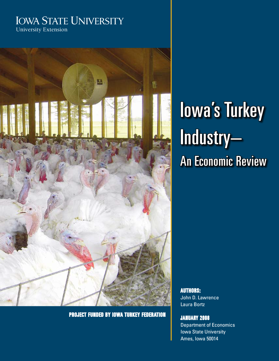 Iowa's Turkey Industry Report