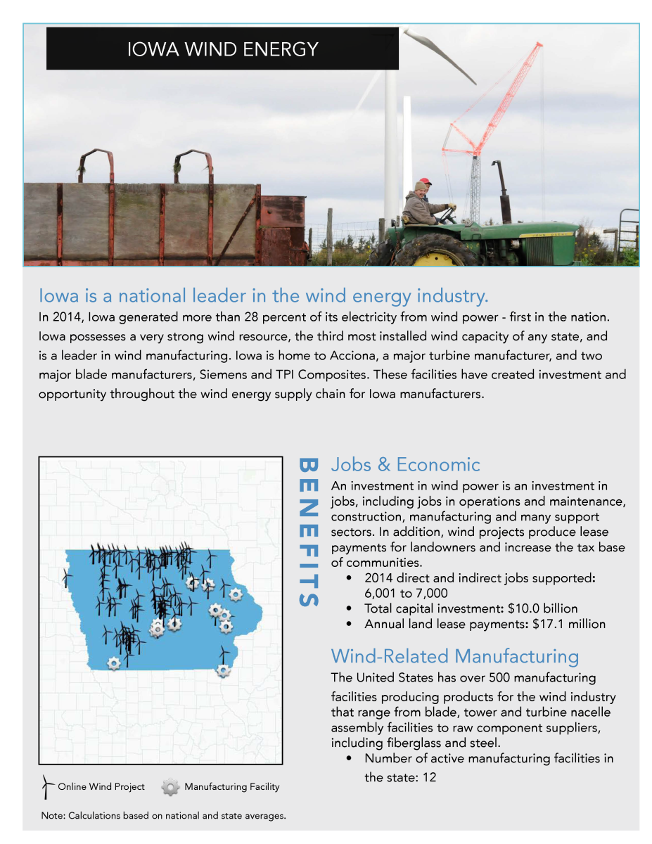 Iowa Wind Industry Report AWEA