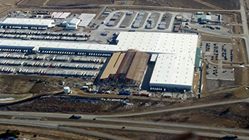Menards Distribution Center Near Shelby Iowa