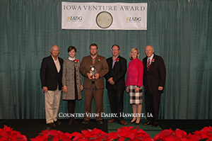 Country View Dairy Receives Iowa Venture Award
