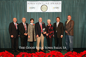 The Good Eggs Receives Iowa Venture Award