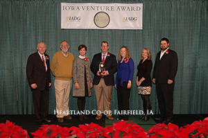 Heartland Co-op Receives Iowa Venture Award