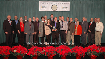 Hy-Line North America Receives Iowa Venture Award