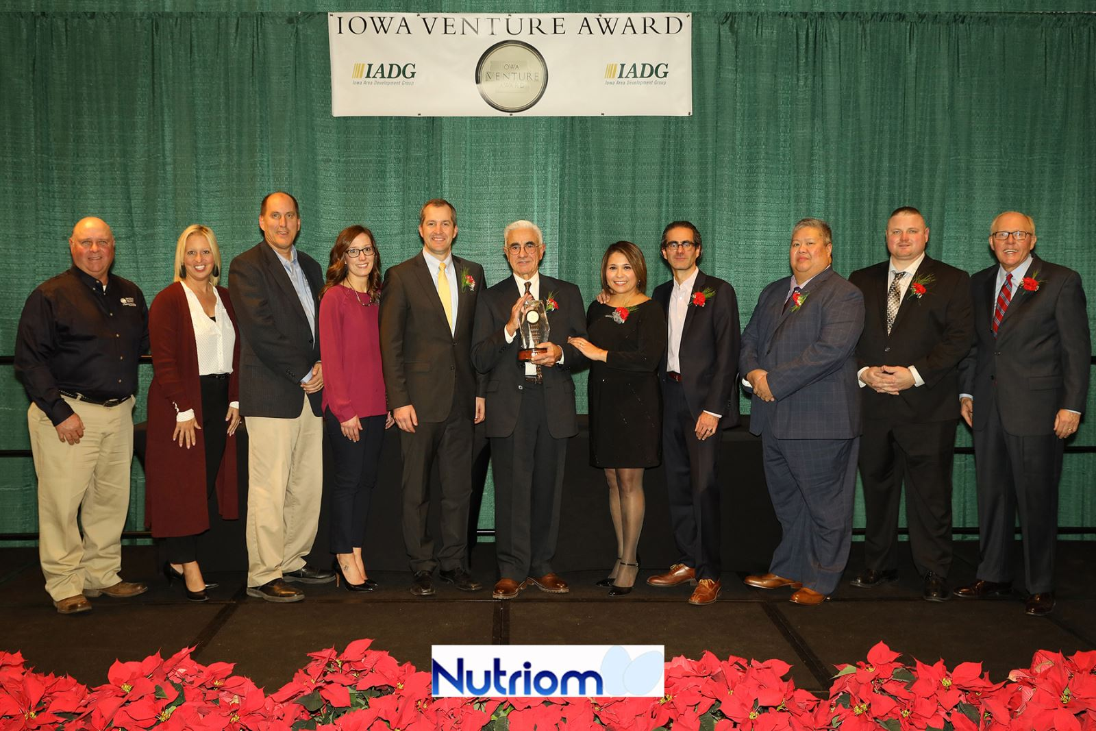 Nutriom Recipient of 2018 Iowa Venture Award