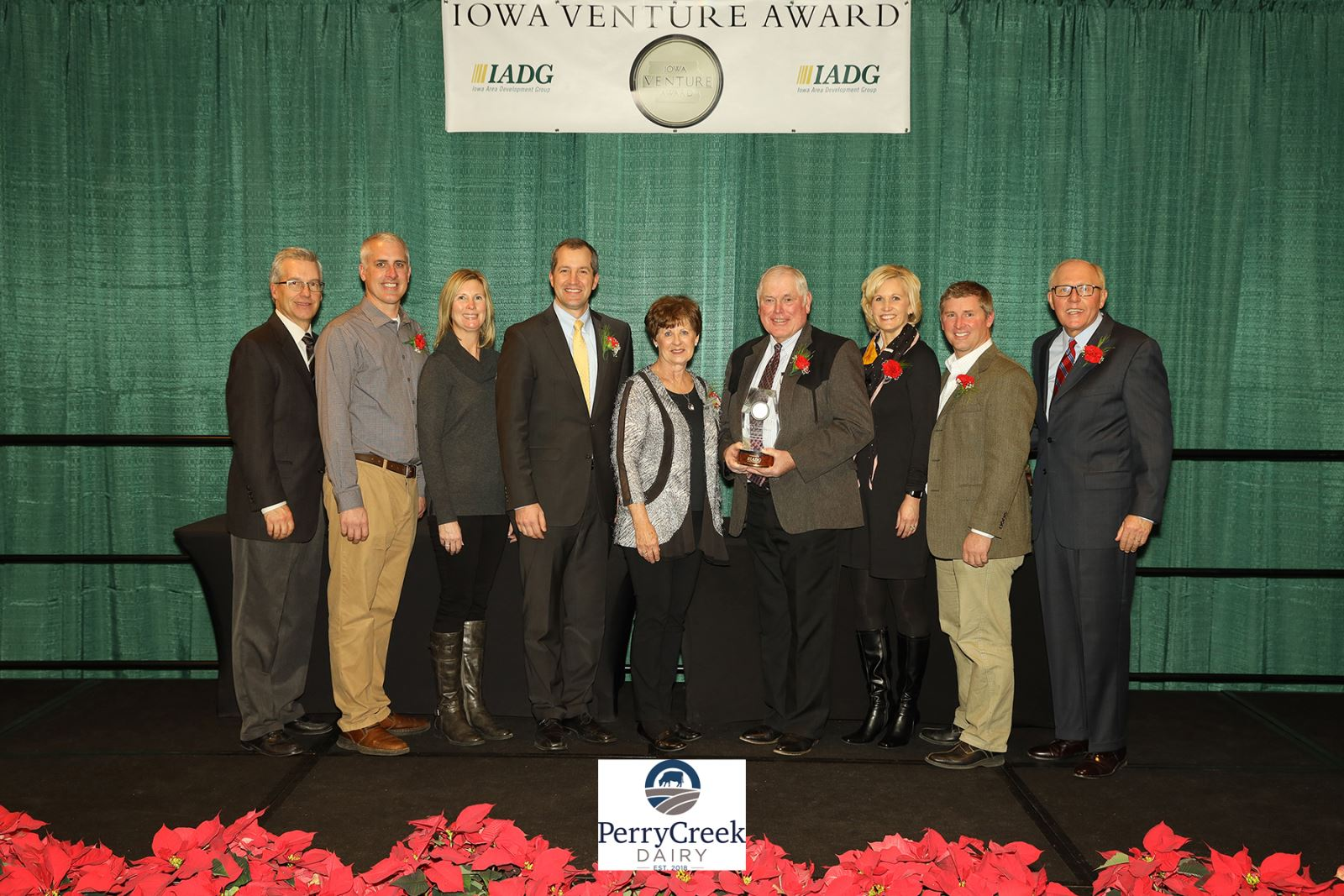 Perry Creek Dairy Receives 2018 Iowa Venture Award