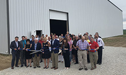 State Dignitaries Join Perry Economic Development at official Spec Building Unveiling