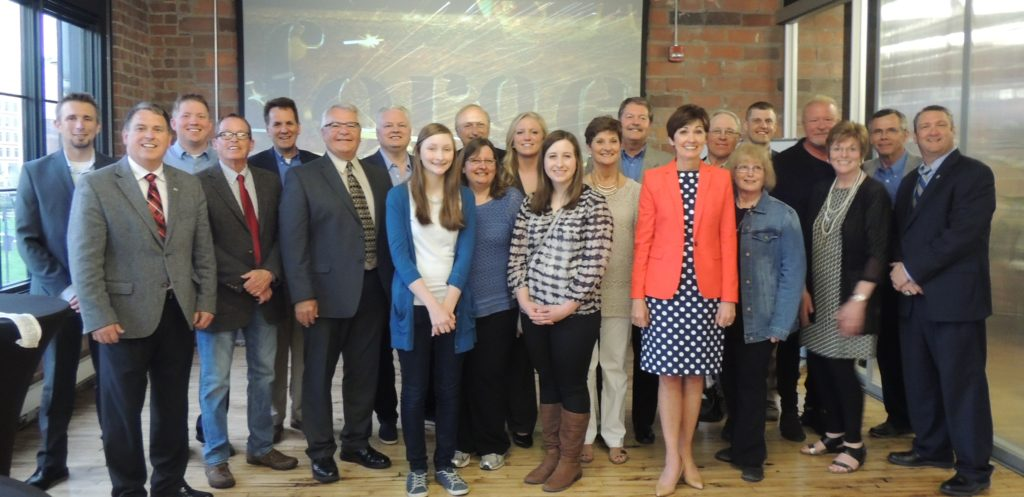 Governor Reynolds joins group for Pillar Technologies Announcement