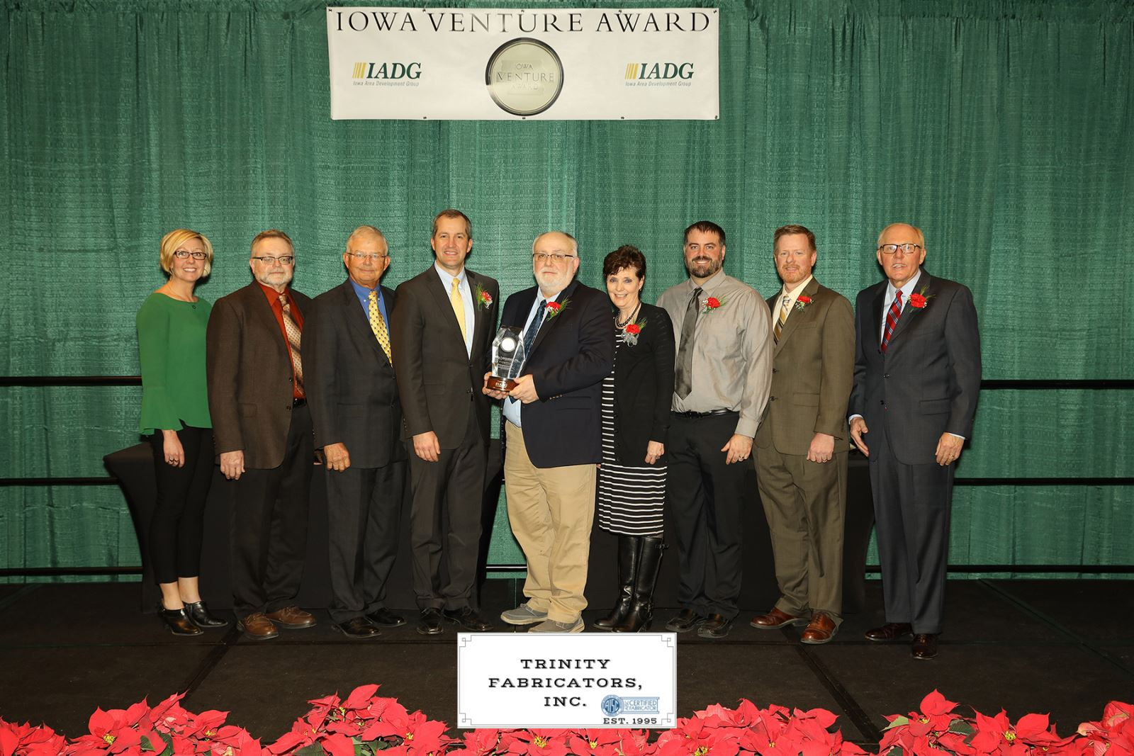 Trinity Fabricators Recipient of 2018 Iowa Venture Award
