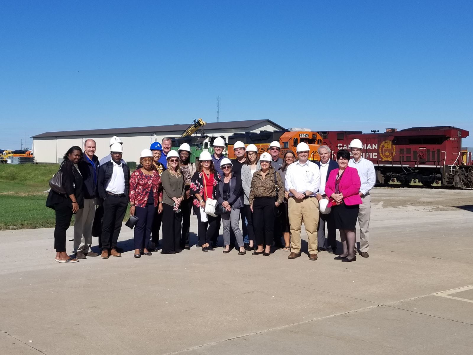 USDA Staffers Tour Iowa Funded Projects