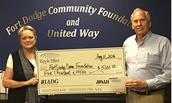 Fort Dodge Community Foundation Receives Ripple Effect Grant